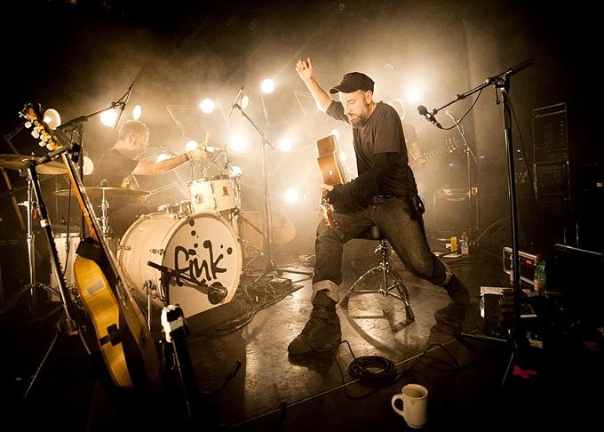 music photographer, Fink