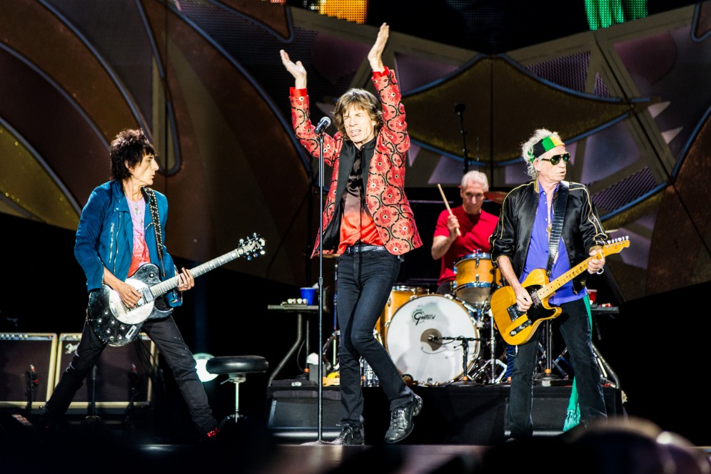 The Rolling Stones; Ernst Happel Stadion, Vienna, Austria, music photographer