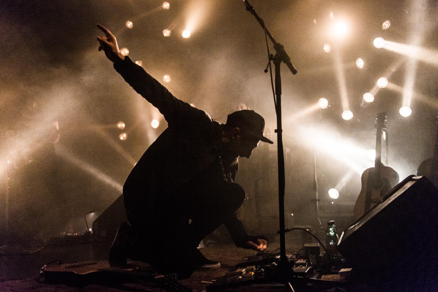 Fink, Concert Photo, Vienna, Austria, 2014