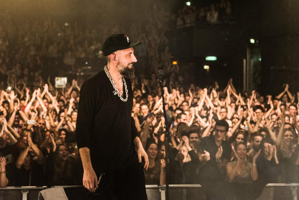 Fink, Concert Photo, Vienna, Austria, 2014: Finn Greenall