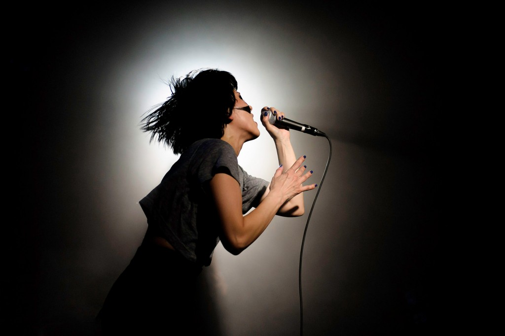 Atari Teenage Riot, concert photography