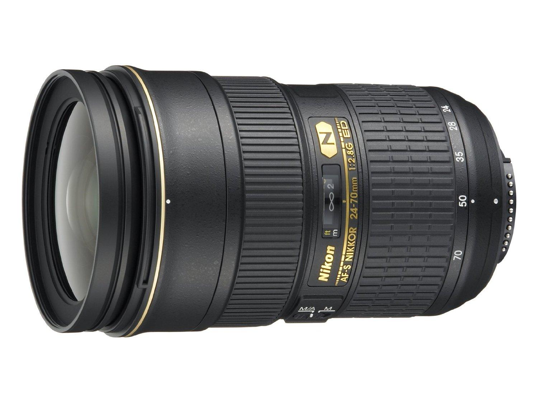 Nikon AF-S FX NIKKOR 24-70mm f/2.8G ED Zoom Lens