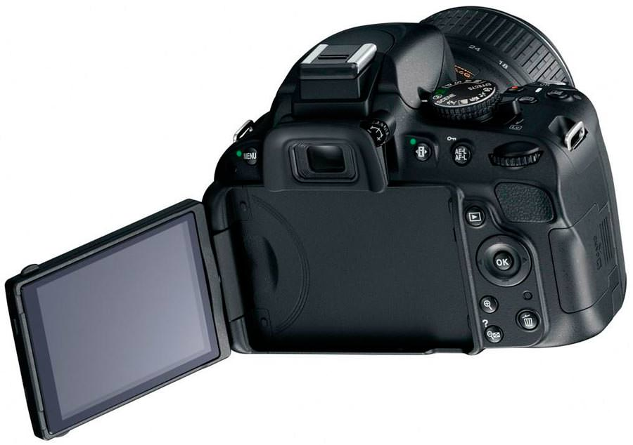concert photography Nikon D5100 back