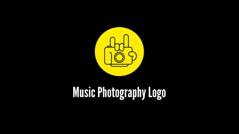 Music Photographer Logo HTBARP