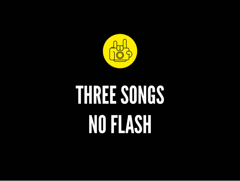 Three_Songs_No_Flash three song rule
