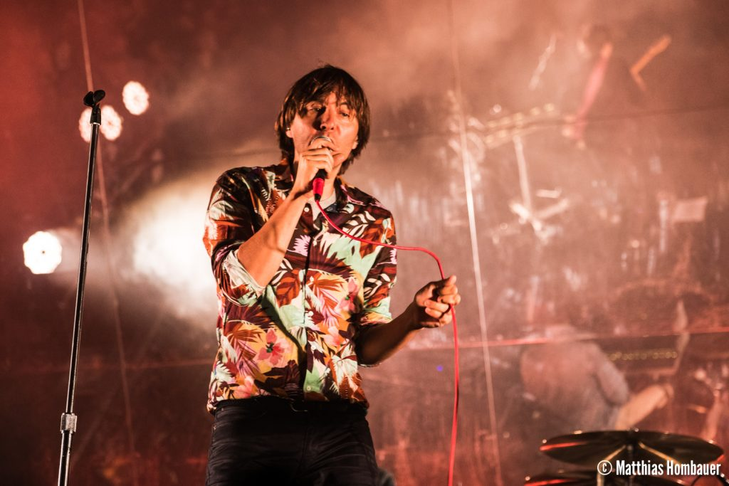 Phoenix performing on 21.07.2017 at the Out Of The Woods Festival in Wiesen. Austria