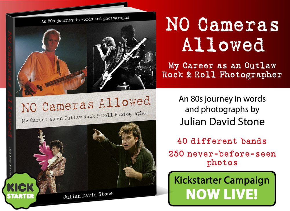 No Cameras Allowed by Julian David Stone