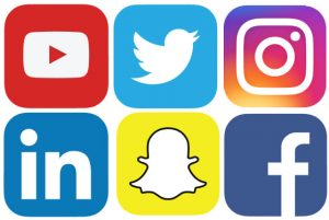 social-media Logos online porfolio