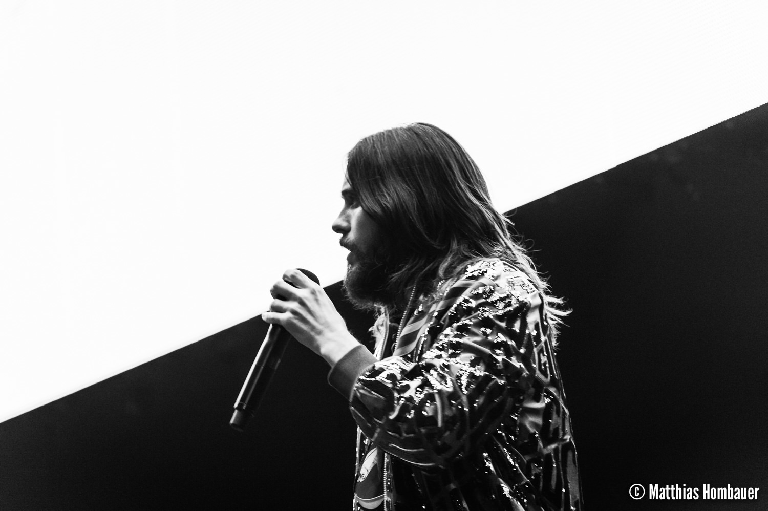 30 Seconds to Mars performing their Monolith Tour on 17. April 2018 in the Stadthalle, Vienna. Austria