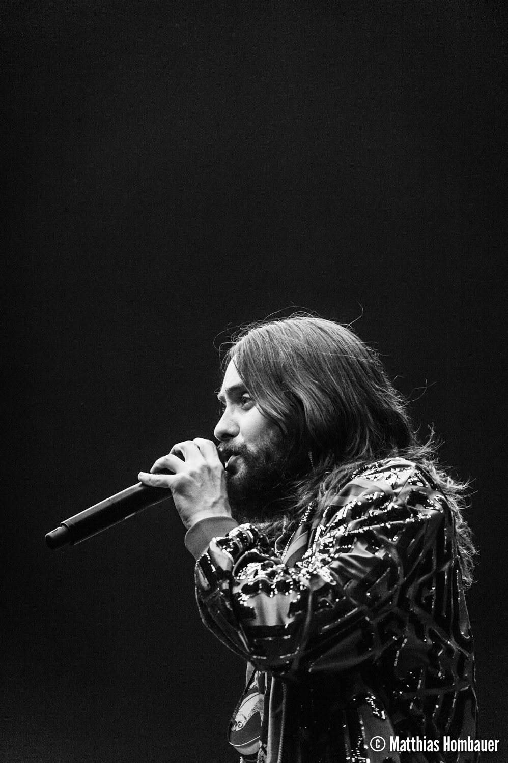 30 Seconds to Mars performing their Monolith Tour on 17 ...