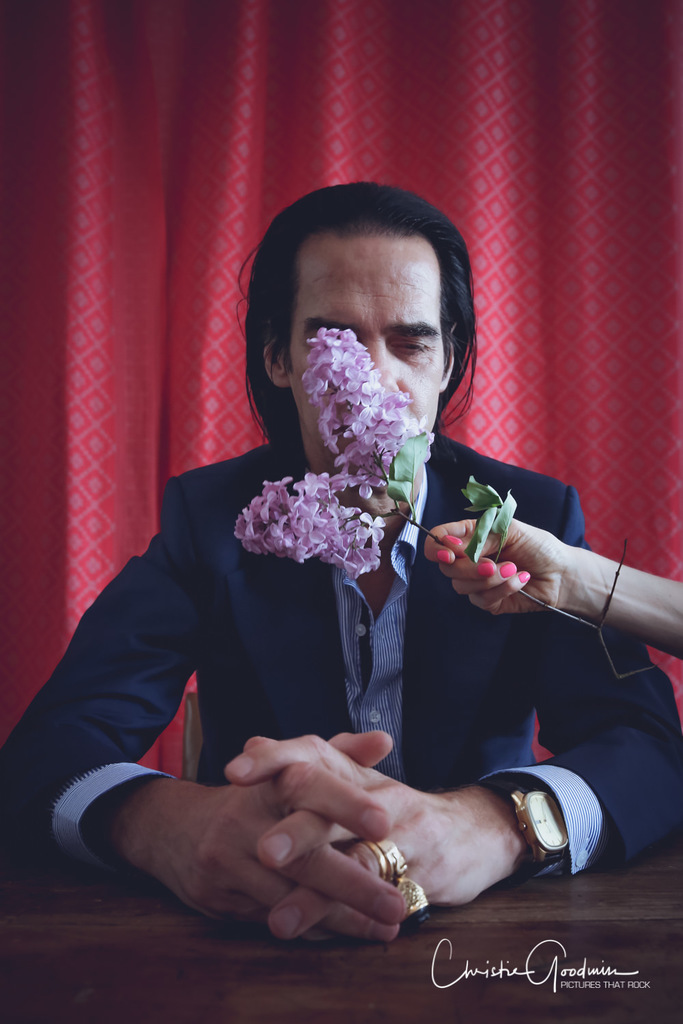 Nick Cave by Christie Goodwin