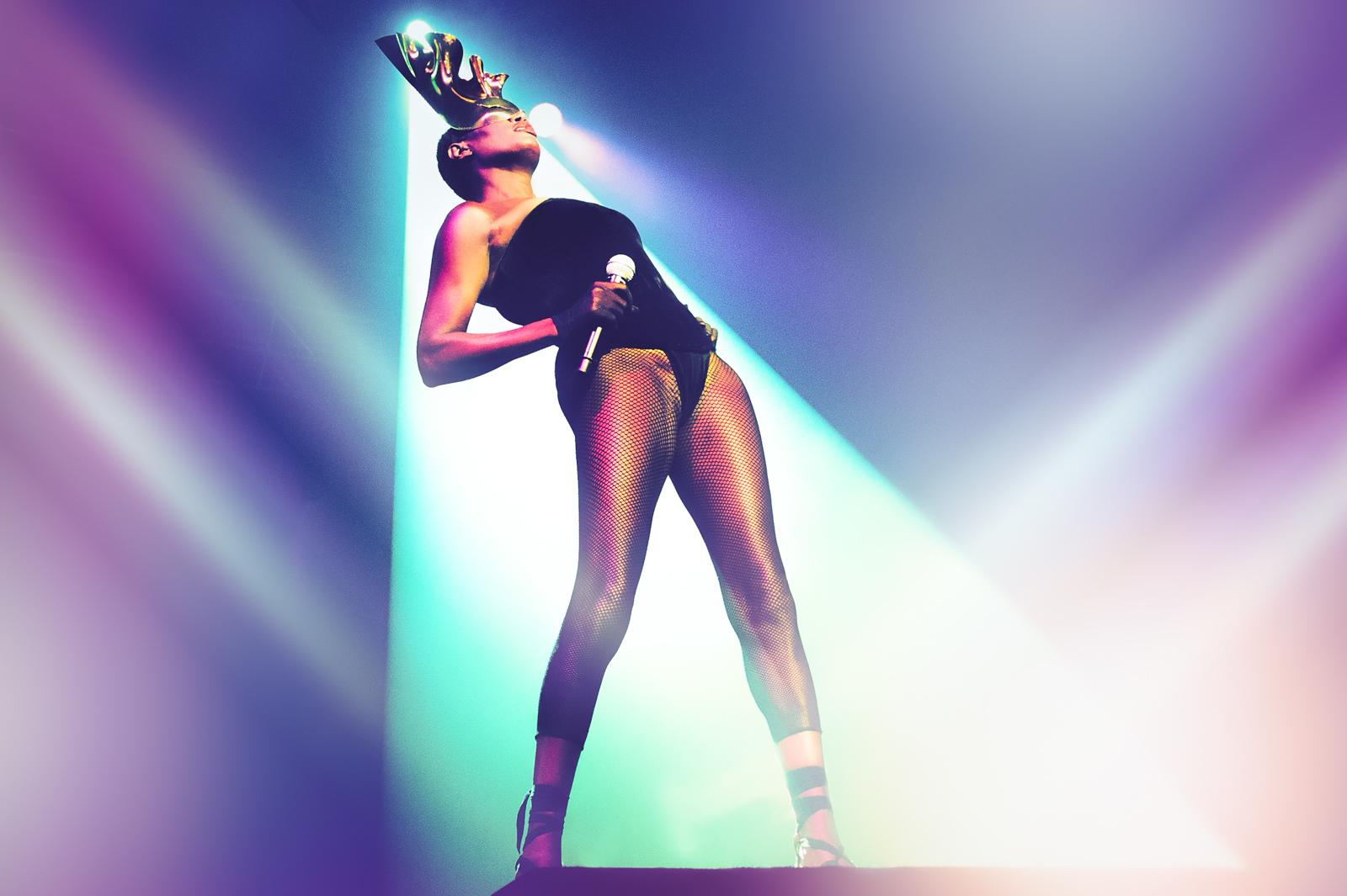 Grace Jones Dana Distortion