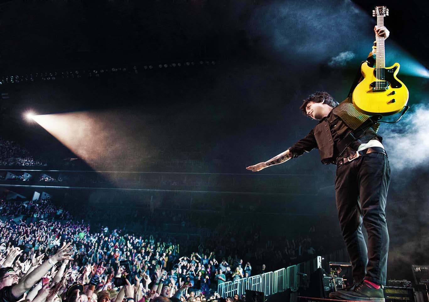 Billie Joe Armstrong of Green Day Dana Distortion