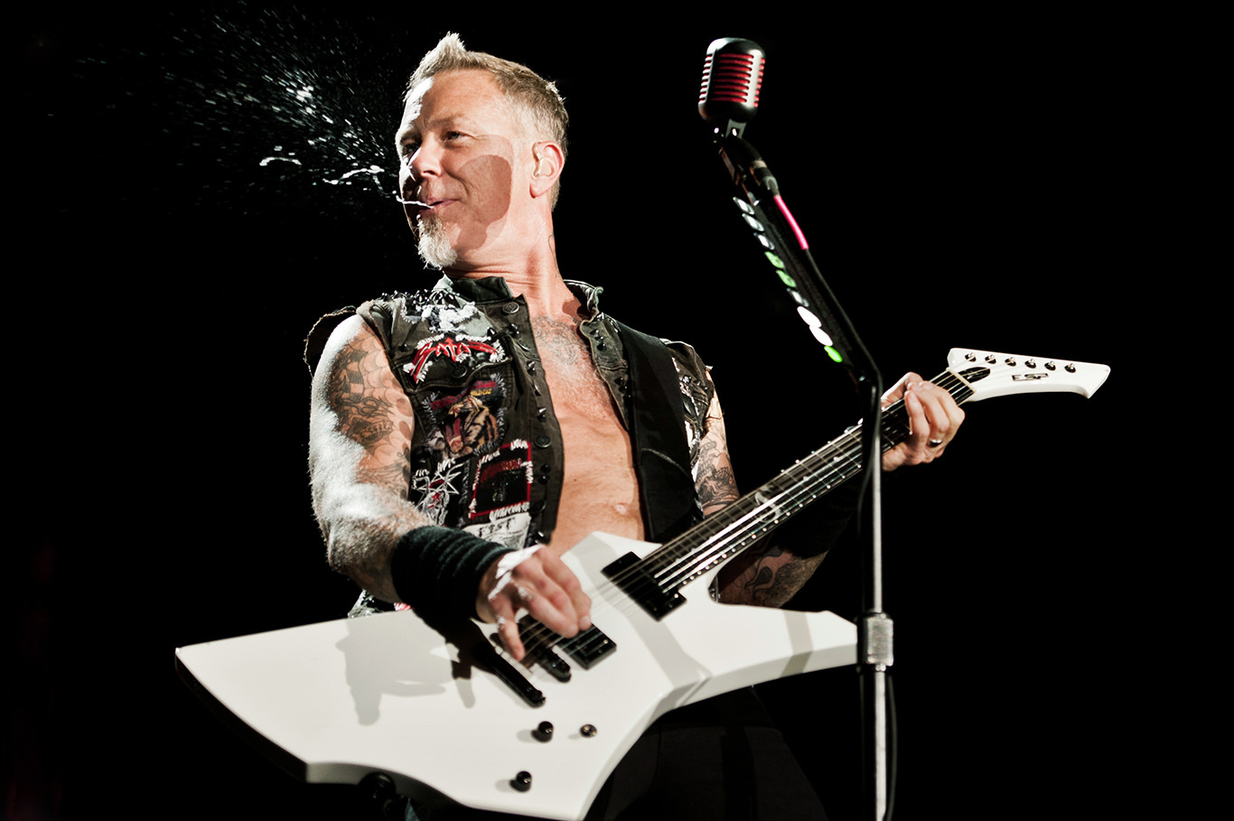 James Hetfield of Metallica Dana Distortion