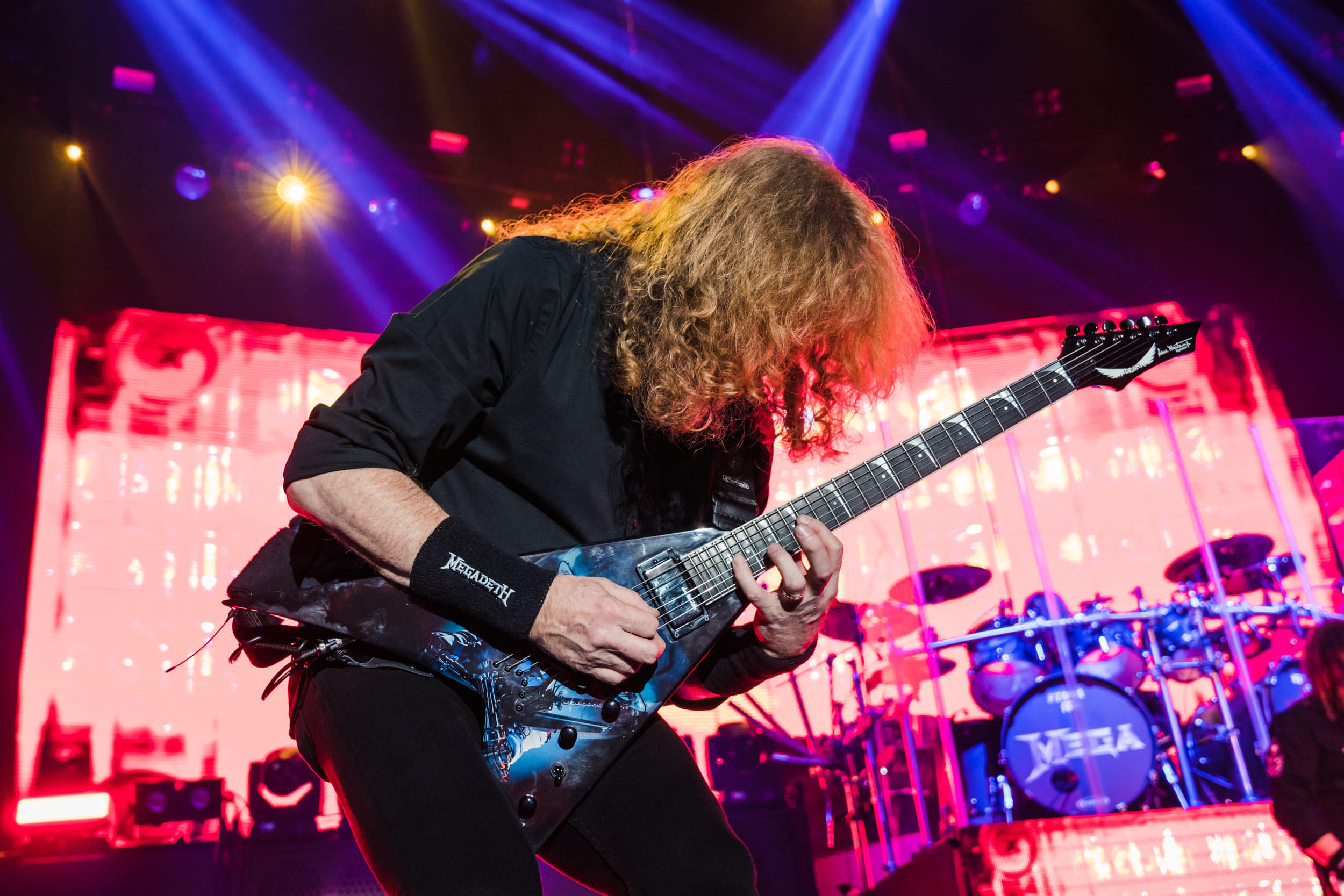 Megadeth at the Tacoma Dome (Photo: Mike Baltierra)