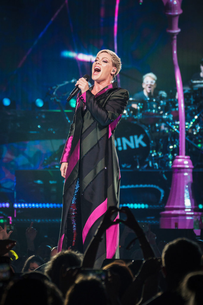 P!nk at Key Arena (Photo: Mike Baltierra)