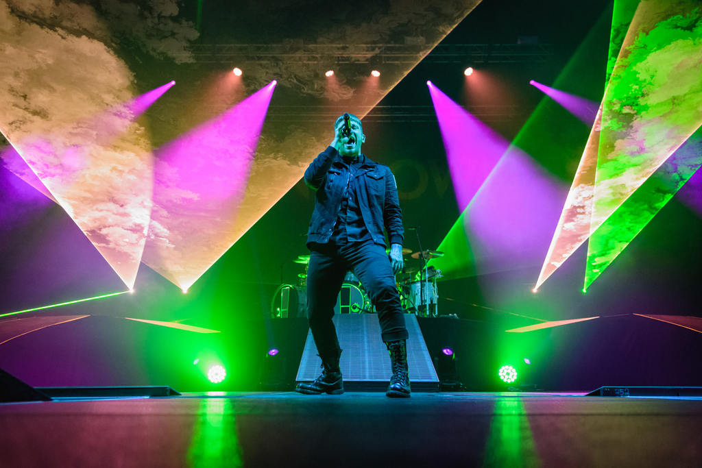 Shinedown at the Yakima Valley Sundome (Photo: Mike Baltierra)